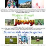 letní tábory 2019