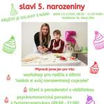 Rodinné centrum Mozaika slaví 5. narozeniny