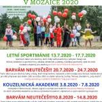 letní příměstské tábory 2020